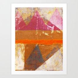 Popocatepetl Art Print