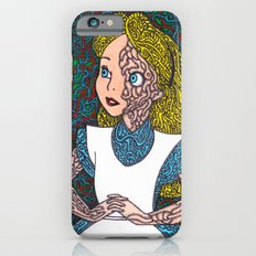 Alice In Psychedelic iPhone 6s Slim Case