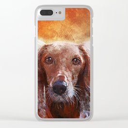 Susie Clear iPhone Case