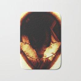 Alien Symbol Bath Mat