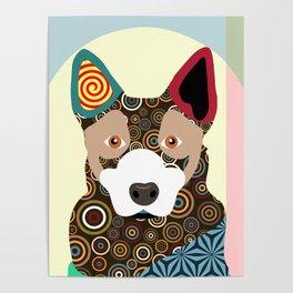 Australian Cattle Dog Poster