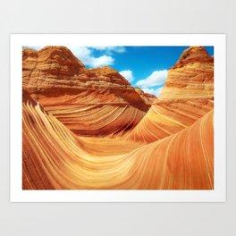 """Sands of Time"" - The Wave, Arizona Art Print"