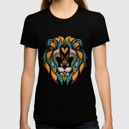 African Lion Head T-shirt