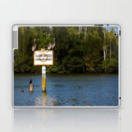 Manatee Zone Laptop & iPad Skin