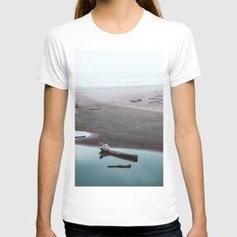 The Lost Summer - Ocean Beach Landscape T-shirt