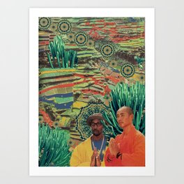 Green Lands Art Print