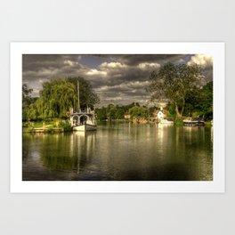 The Thames at Streatley Art Print