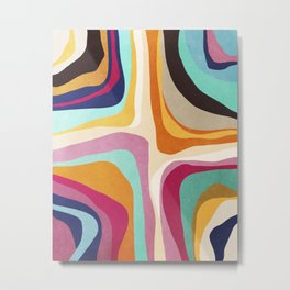 Psychedelic pattern 01 Metal Print