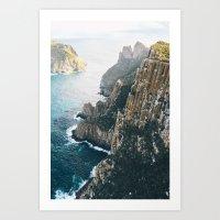 Tasmanian Sea Cliffs II Art Print