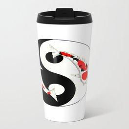 Koi Kohaku and Taisho Sanke Yin Yang Travel Mug