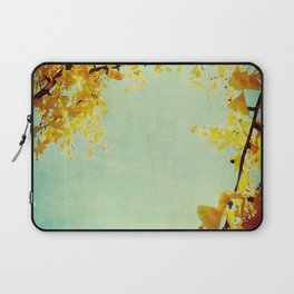 Gingko Branches Laptop Sleeve