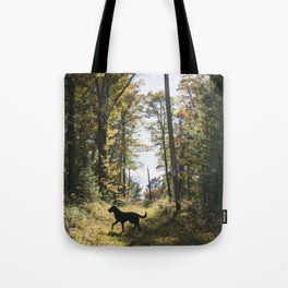 A Walk with Charlie Tote Bag