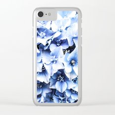 Holy Hydrangea IV Clear iPhone Case