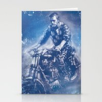 steve mcqueen Stationery Cards featuring McQueen by Scott Dickson