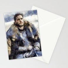 waiting for the battle Stationery Cards