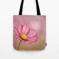 blossom Tote Bags featuring blossom by Iris Lehnhardt