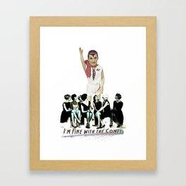 """BJ Cobbledick """"Ladies Man"""" Framed Art Print"""