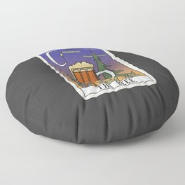 Beer Reading Floor Pillow