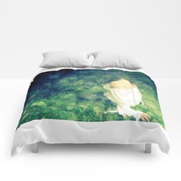 Forest lady Comforters