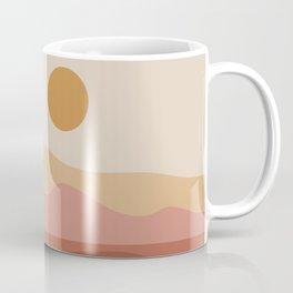 Geometric Landscape 23A Coffee Mug
