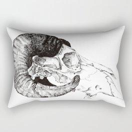 Skull study Rectangular Pillow