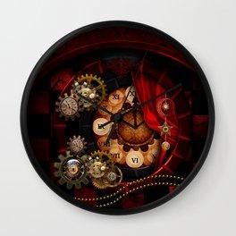 Steampunk, wonderful clockwork Wall Clock