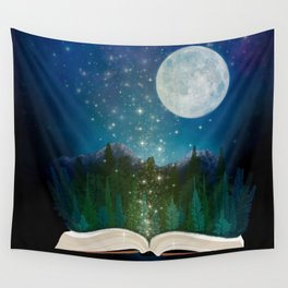 Open Your Imagination Wall Tapestry