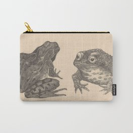 Naturalist Frogs Carry-All Pouch