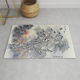 Flock Of Crows At Dawn - Digital Remastered Edition Rug