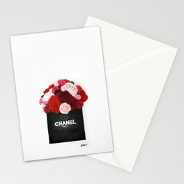 Blooming Roses  Stationery Cards