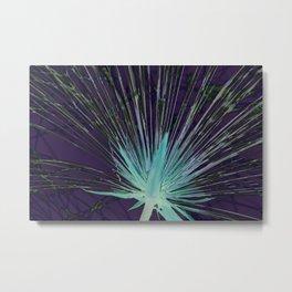 Shining flower Metal Print