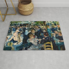 Renoir - Dance at Le Moulin de la Galette Rug