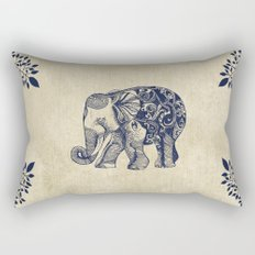 Simple Elephant Rectangular Pillow