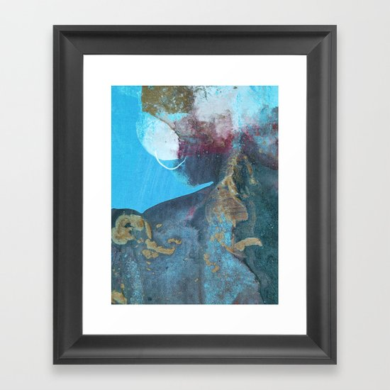 abstract 113 Framed Art Print