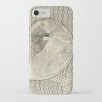 seashell iPhone & iPod Cases featuring SEASHELL by Mary Szulc