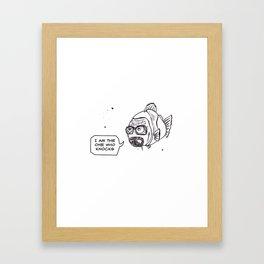 Breaking Bass Framed Art Print