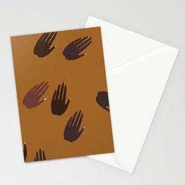 Melanin Hands Stationery Cards