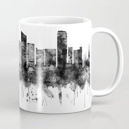 Grand Rapids Michigan Skyline BW Coffee Mug