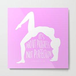 Lovin' Yoga I Metal Print