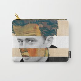 Egon Schiele's Self Portrait with Striped Shirt & James D. Carry-All Pouch