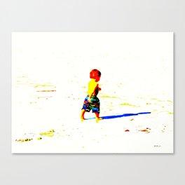 Straight Ahead to a Wonderful World! Canvas Print