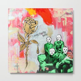 blue october i hope your happy tour 2019 makanmie Metal Print