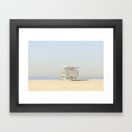 ALPACA -  VENICE BEACH No. 23 Framed Art Print
