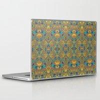 arabic Laptop & iPad Skins featuring Arabic Marigold by GEETIKAGULIA