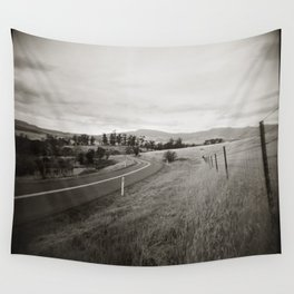 {  on the road } Wall Tapestry