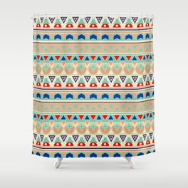 Ethnic ornament , 12 Shower Curtain