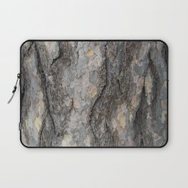 pine tree bark - scale pattern Laptop Sleeve