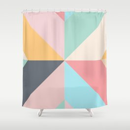 Geometric Pattern II Shower Curtain