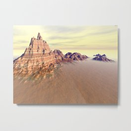 Grand Mountain Range Metal Print