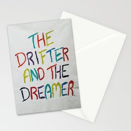 The Drifter and The Dreamer Stationery Cards